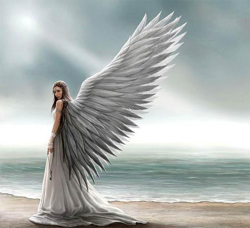 Картинки ангелов с крыльями - красивые, прикольные, интересные 4