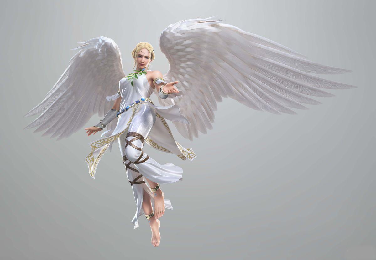 Картинки ангелов с крыльями - красивые, прикольные, интересные 5
