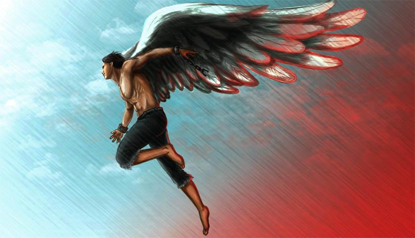 Картинки ангелов с крыльями - красивые, прикольные, интересные 7