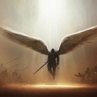 Картинки ангелов с крыльями - красивые, прикольные, интересные 9