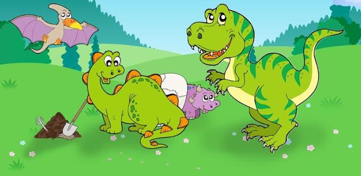 Картинки динозавров для детей - прикольные, красивые, классные 16