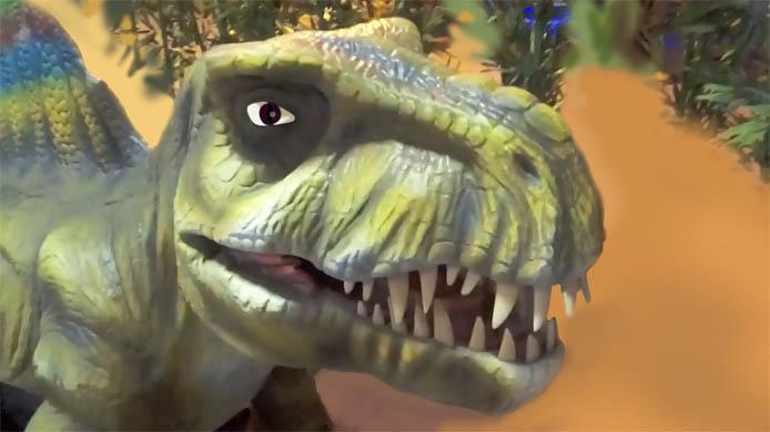 Картинки динозавров для детей - прикольные, красивые, классные 2