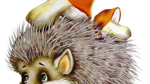 Картинки ежика для детей - прикольные, красивые, интересные 15