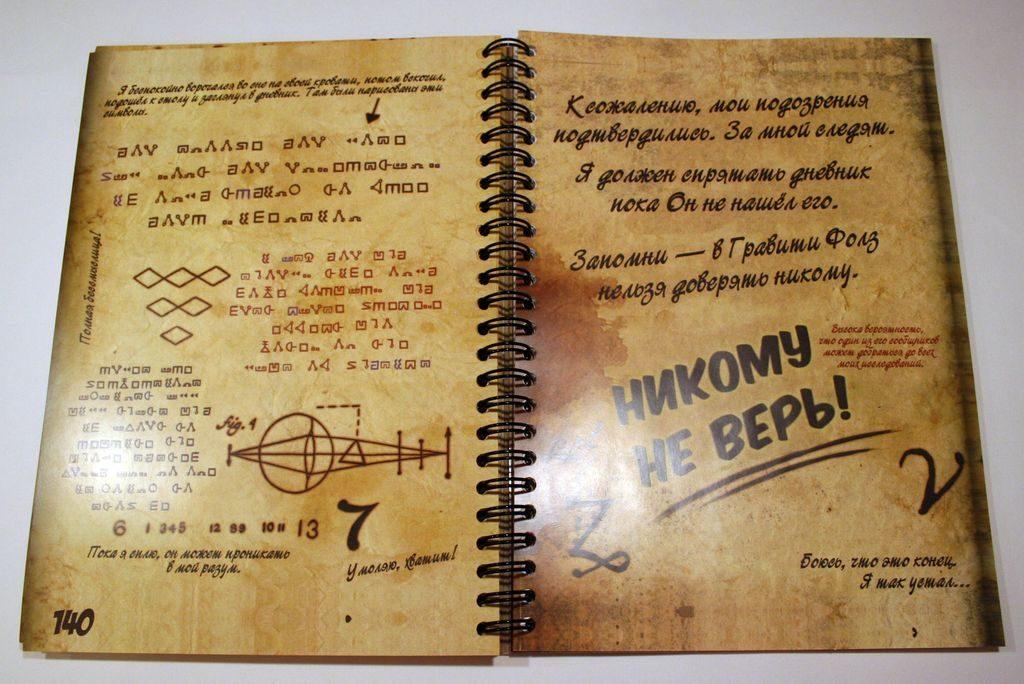 Картинки из дневника Гравити Фолз - очень красивые, прикольные 4