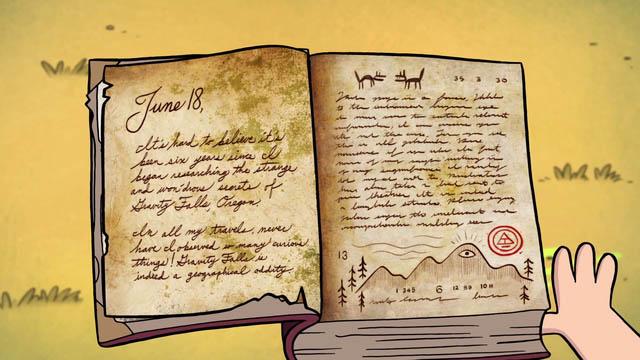 Картинки из дневника Гравити Фолз - очень красивые, прикольные 6