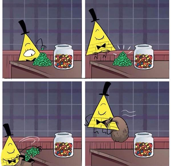Комиксы про Гравити Фолз - прикольные, красивые, интересные 9