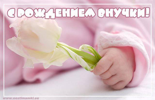 Красивое поздравление с новорожденной внучкой - скачать онлайн 4