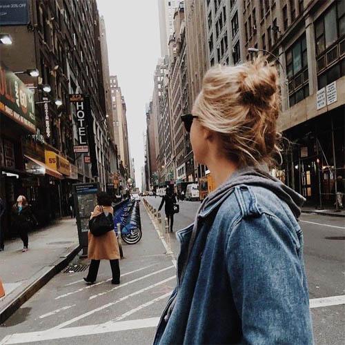 Красивые девушки - картинки на аватарку со спины, прикольные 12