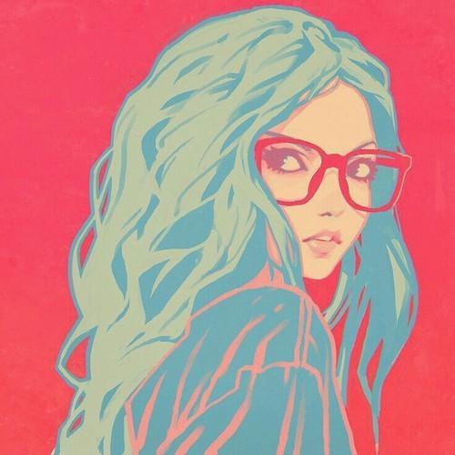 Красивые и крутые картинки на аву для девушек нарисованные 14