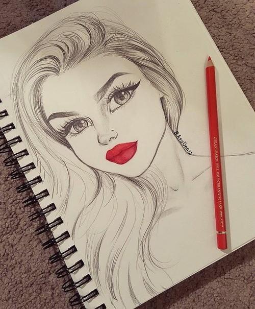 Красивые и крутые картинки на аву для девушек нарисованные 15