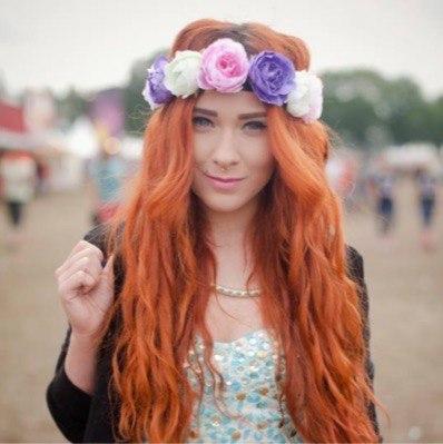 Красивые картинки девушек с цветами - смотреть, скачать бесплатно 16