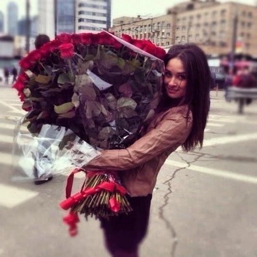 Красивые картинки девушек с цветами - смотреть, скачать бесплатно 8