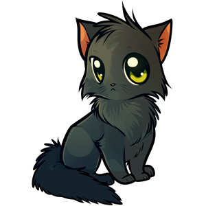 Красивые картинки котов для срисовки - легкие, простые, прикольные 6