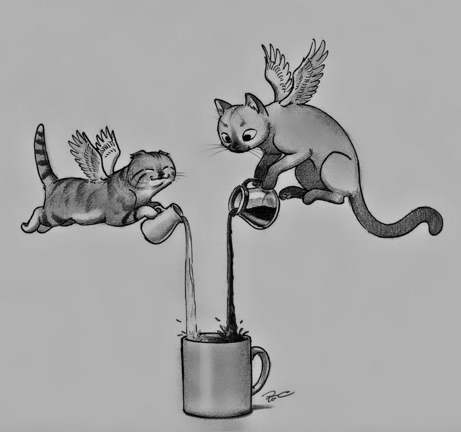 Милые картинки для срисовки - смотреть, скачать бесплатно 11