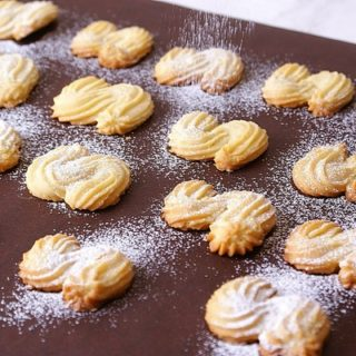Песочное печенье венское - рецепт, пошагово, приготовление, фото 2
