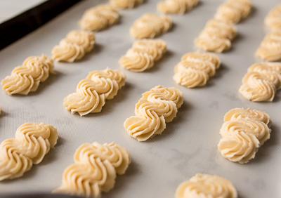 Песочное печенье венское - рецепт, пошагово, приготовление, фото 3