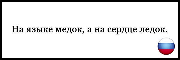 Пословицы и поговорки о русском языке - красивые, прикольные 11