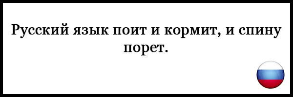 Пословицы и поговорки о русском языке - красивые, прикольные 12