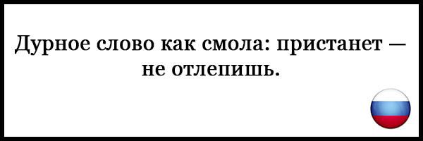 Пословицы и поговорки о русском языке - красивые, прикольные 13