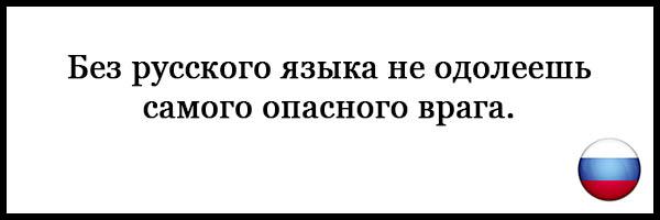 Пословицы и поговорки о русском языке - красивые, прикольные 2
