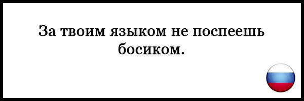 Пословицы и поговорки о русском языке - красивые, прикольные 20