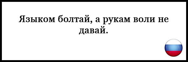 Пословицы и поговорки о русском языке - красивые, прикольные 9