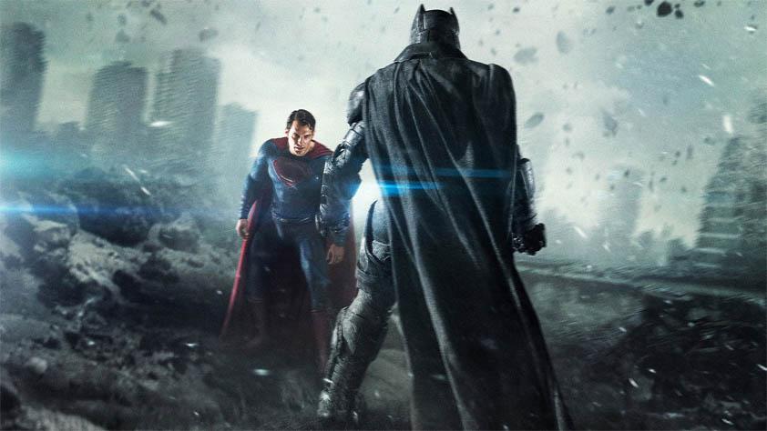 Прикольные картинки Бэтмен против Супермена - смотреть бесплатно 11