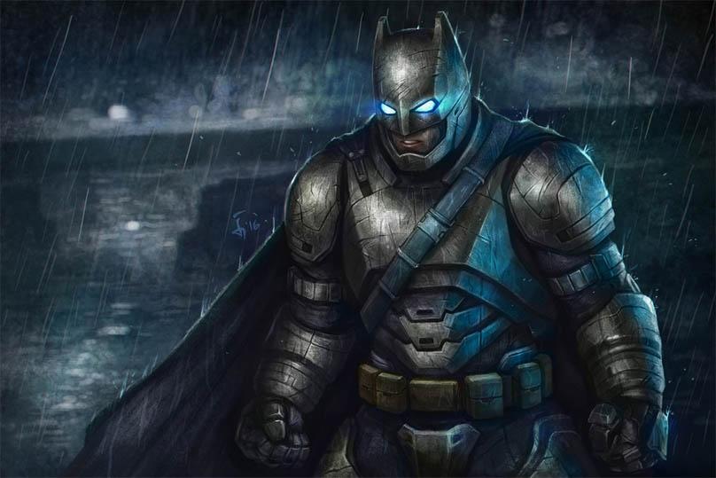 Прикольные картинки Бэтмен против Супермена - смотреть бесплатно 2