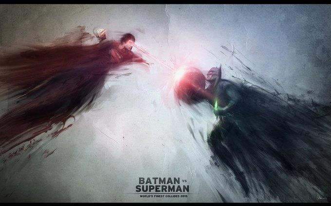 Прикольные картинки Бэтмен против Супермена - смотреть бесплатно 6