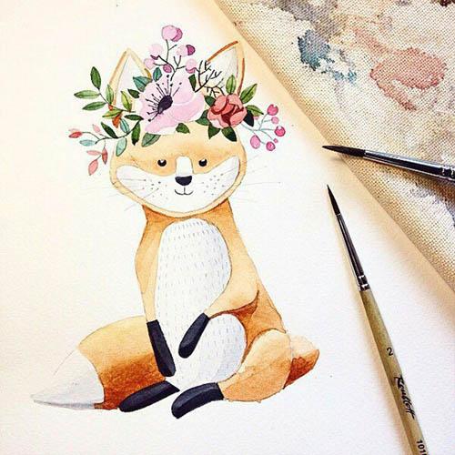 Простые картинки для срисовки - прикольные, красивые, классные 4