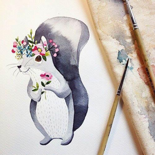 Простые картинки для срисовки - прикольные, красивые, классные 8