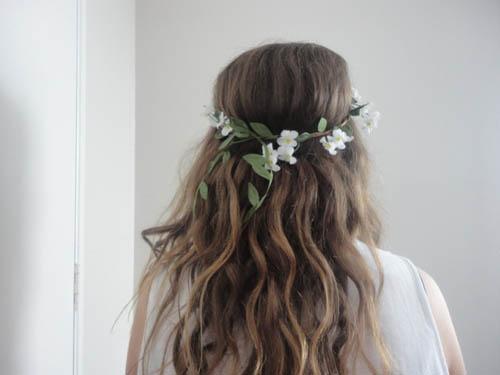 Скачать картинки - девушка с цветами со спины, красивые, крутые 1