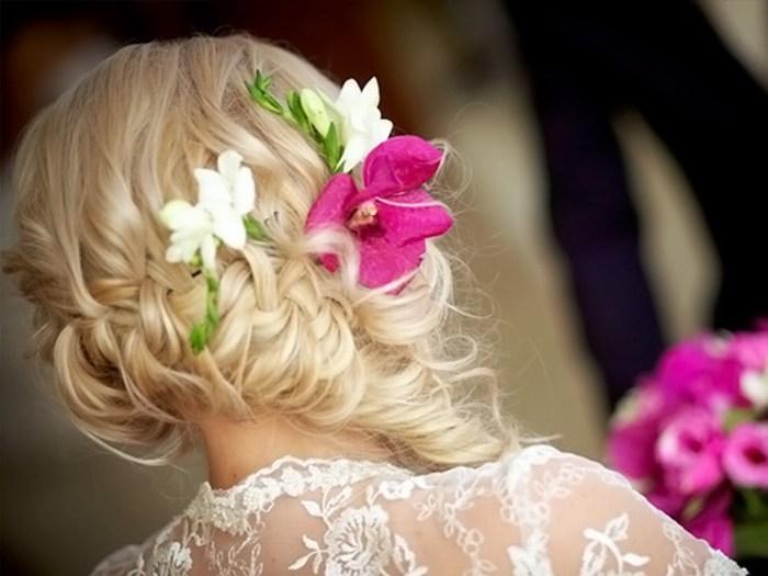 Скачать картинки - девушка с цветами со спины, красивые, крутые 6