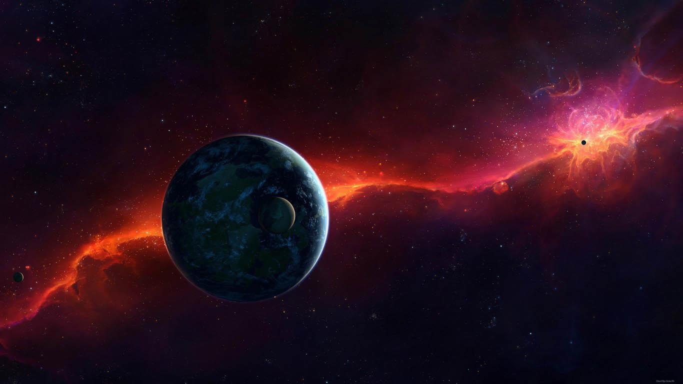 Скачать картинки на рабочий стол - космос, галактика, Земля 12