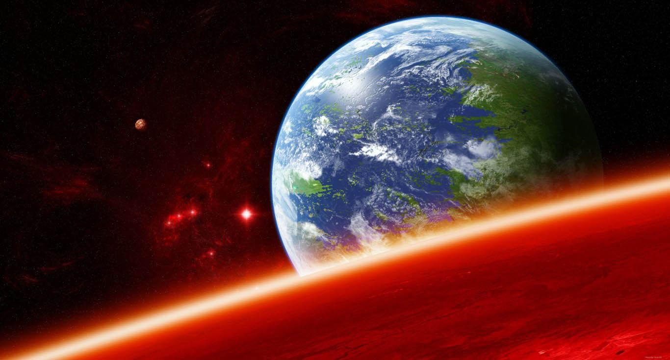 Скачать картинки на рабочий стол - космос, галактика, Земля 4