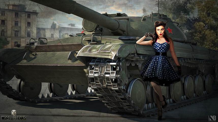 Скачать картинки танки - прикольные, красивые, интересные 1