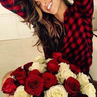 Фото девушек с цветами - красивые, прикольные, удивительные 6