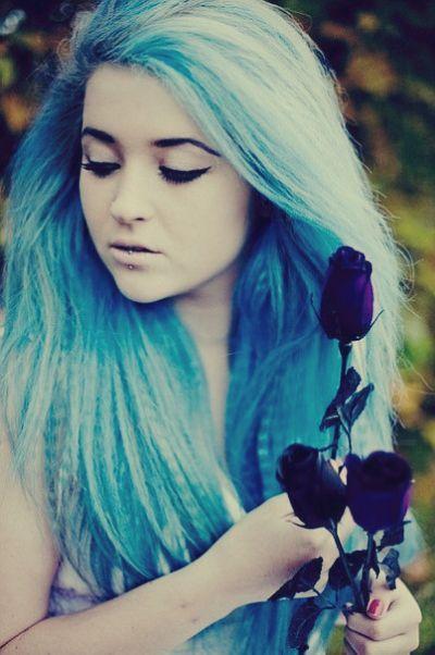 Девушки со спины с цветами на аву - красивые, классные, прикольные 10