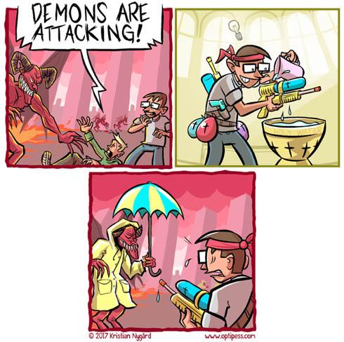 Интересные комиксы про войну - прикольные, забавные, читать 1