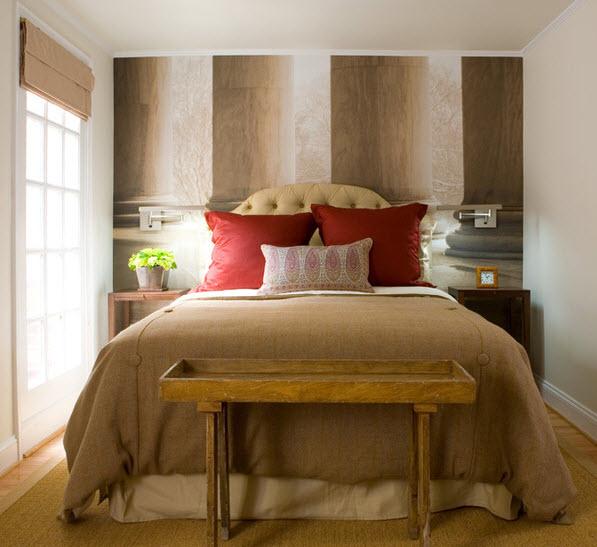 Как сделать ремонт в маленькой спальне - рекомендации и советы 7