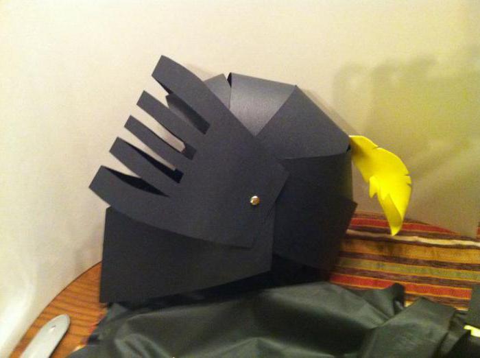 Как сделать рыцарский шлем своими руками - инструкция пошаговая 2