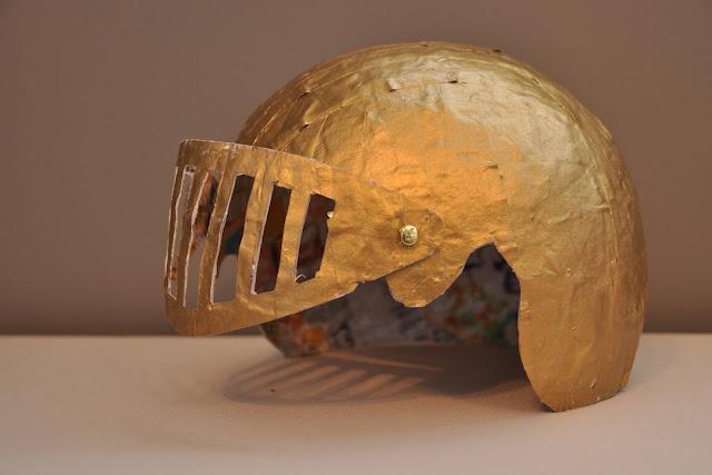 Как сделать рыцарский шлем своими руками - инструкция пошаговая 5