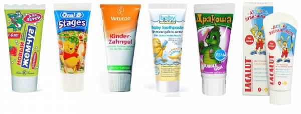 Когда начинать чистить зубы ребенку, средства для зубов малышей 2