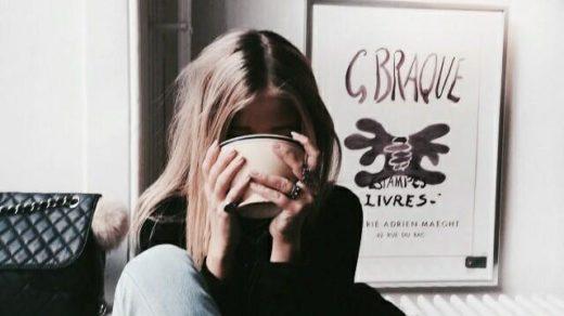 Красивые картинки девушек с закрытым лицом - прикольные, классные 15