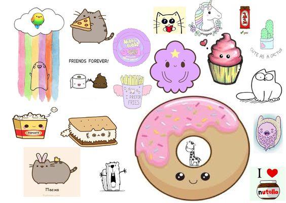 Милые картинки пончики