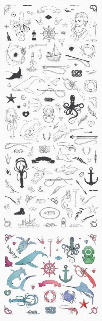 Прикольные черно-белые картинки для личного дневника - скачать 16