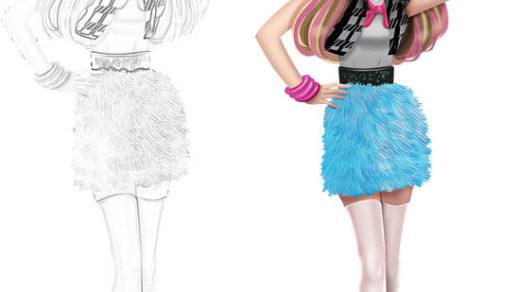 Раскраски для девочек - распечатать, скачать, красивые, прикольные 1