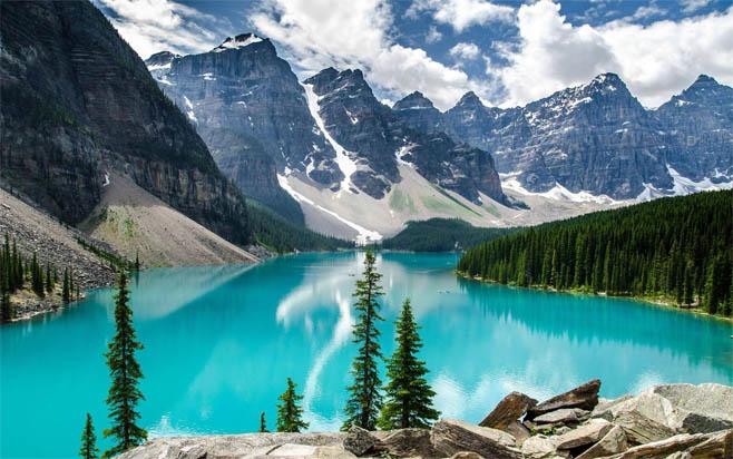 Самые красивые озера мира - необычные и удивительные 1