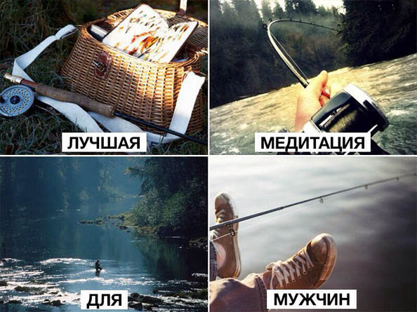 Смешные картинки про рыбалку - прикольные, ржачные, веселые 8