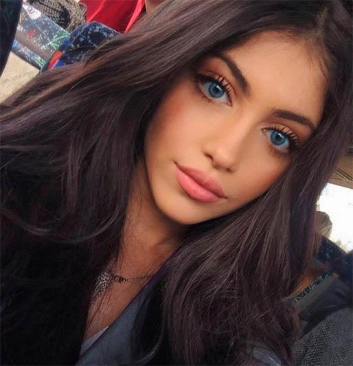Девушки с красивыми ресницами - милые, привлекательные, прекрасные 9